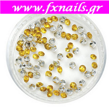 Strass Gold color