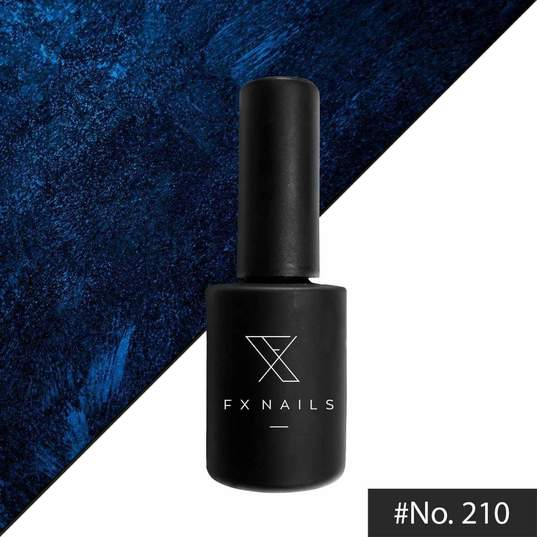 Gel Polish AnGel 15ml No210 Blue Metallic