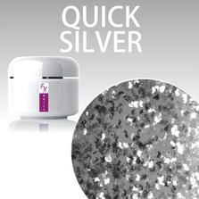 Color Gel 5ml - Glitter Quick Silver