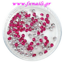 Strass Rose color