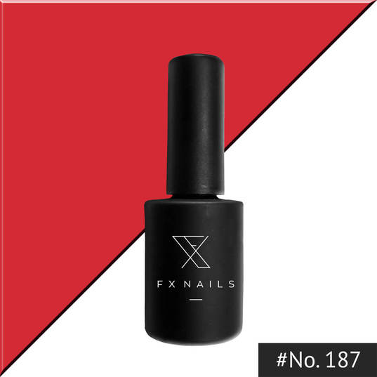 Gel Polish 15ml - No 187 Coral