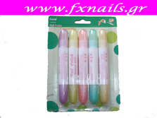Correct pen for nails 5τμχ