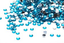 STRASS LIGHT BLUE 50pcs