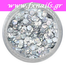Strass Silver Color