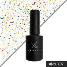 AnGel FxNails - Top Coat Party Flakes