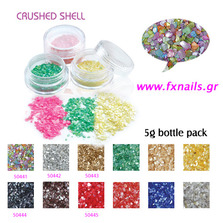 Crushed Shell Holosilver